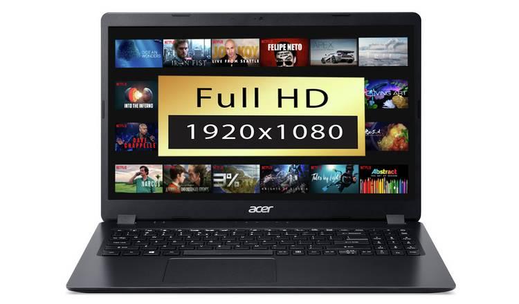 Acer Aspire 3 15.6 Inch Ryzen 3 4GB 1TB FHD Laptop - Black £299 at Argos