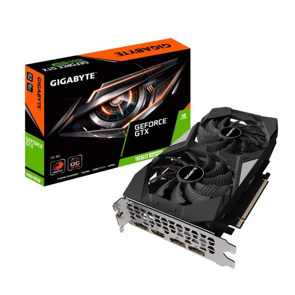 Gigabyte GeForce GTX 1660 SUPER OC 6G £209.99 at Amazon