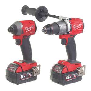 Milwaukee Gen 3 impact and drill driver set. The most powerful cordless drill set on the market - £319.99 @ Screwfix