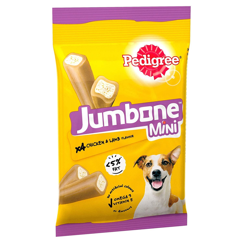 Pedigree Jumbone, Small Dog Treats with Chicken and Lamb, 32 Chews - £1.06 Prime / +£4.49 non Prime