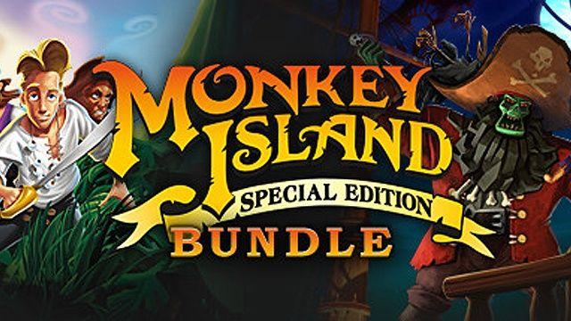 [Steam] Monkey Island: Special Edition Bundle (PC) Inc Monkey Island SE & Monkey Island 2 SE Le Chucks Revenge - £2.52 @ Fanatical