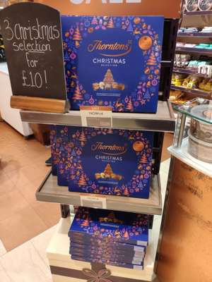 Thorntons Christmas Selection £4 (not online)
