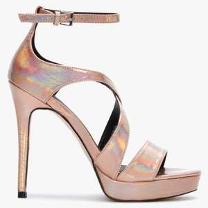 Kenedie Platform sandals £14.40 (with code and free click and collect) @ Daniel Footwear
