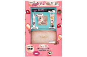 Benefit Makeup Megastars + extras, free click and collect £32.50 @ Boots