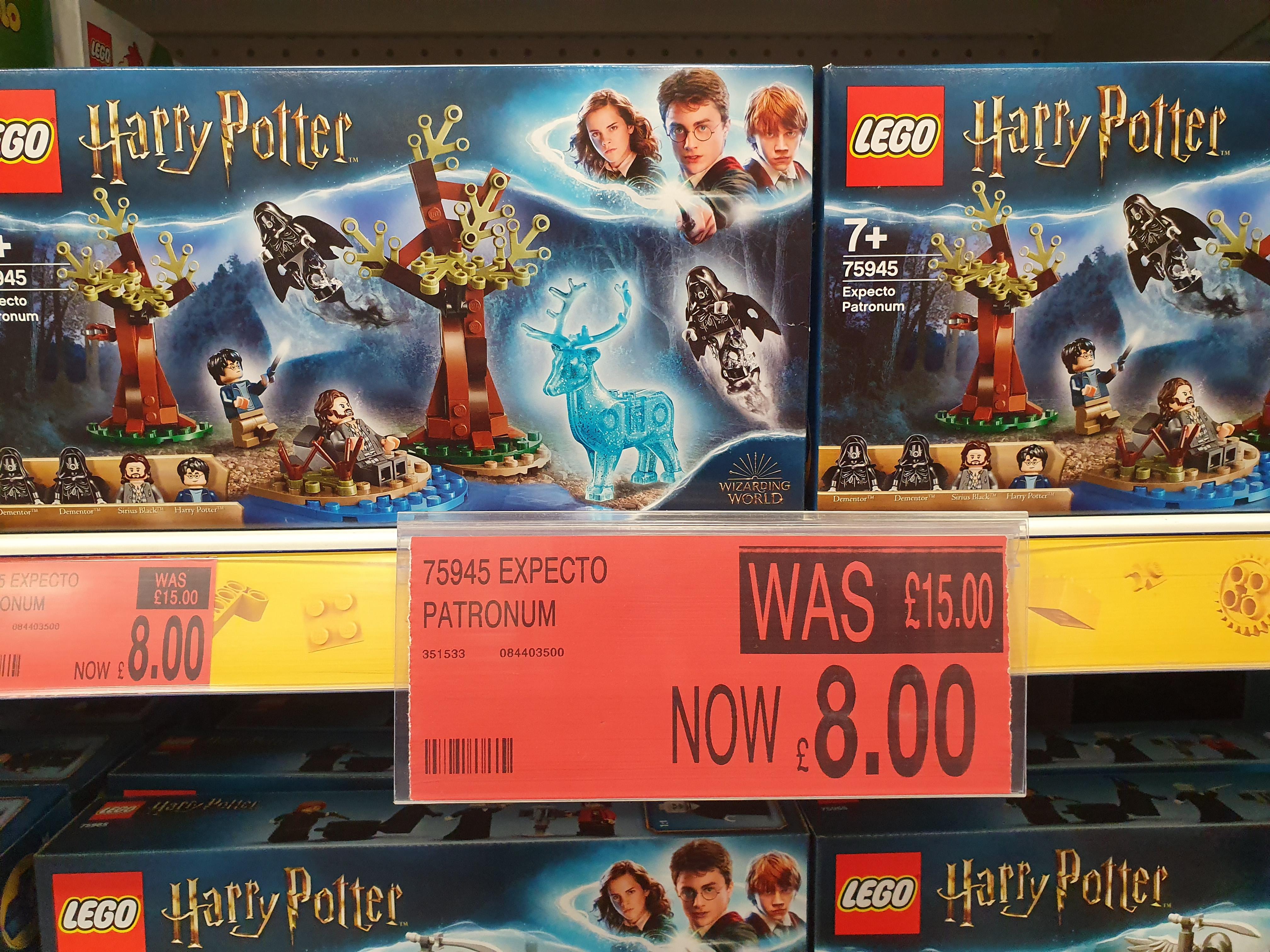 LEGO Harry Potter 75945 Expecto Patronum £8 @ B&M Worcester St Martains Quarter