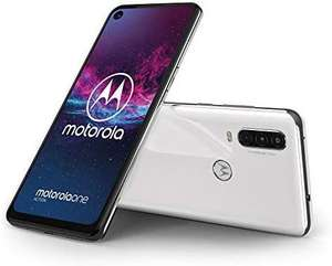Motorola One Action White - Dual SIM Smartphone 128 GB / 4 GB £159.71 (£152.64 Fee Free) @ Amazon Spain