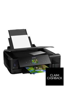 Epson Eco-Tank Printer ET-7750 A3 Print/Scan/Copy Wi-Fi Photo Printer - £479.99 @ Very (+Claim £50 Cashback)