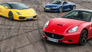 Triple Supercar Driving Blast with Free High Speed Passenger Ride £99 @ Red Letter Days