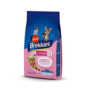 Brekkies Excel Junior Cat Food (1-12 Months) Chicken, Vegetables and Rice ,1.5 kg X Pack of 6 - £10.89 @ Amazon Prime (+£4.49 non-Prime)