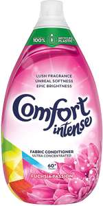 Comfort Intense Fabric Softener Liquid 6 pack - £15 @ Amazon Prime / £19.49 non-Prime (£9.45 for First Time S&S Orders)