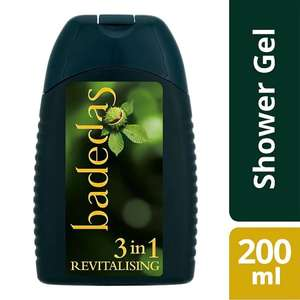 Badedas 3 In 1 Revitalise Shower Gel, Shampoo & Conditioner 200ml, £1.70 @ Boots Online & In Store (Also 3 For 2 At Superdrug)