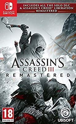 Assassin's Creed III Remastered (Nintendo Switch) - £17.99 @ Amazon (+£2.99 non-Prime)