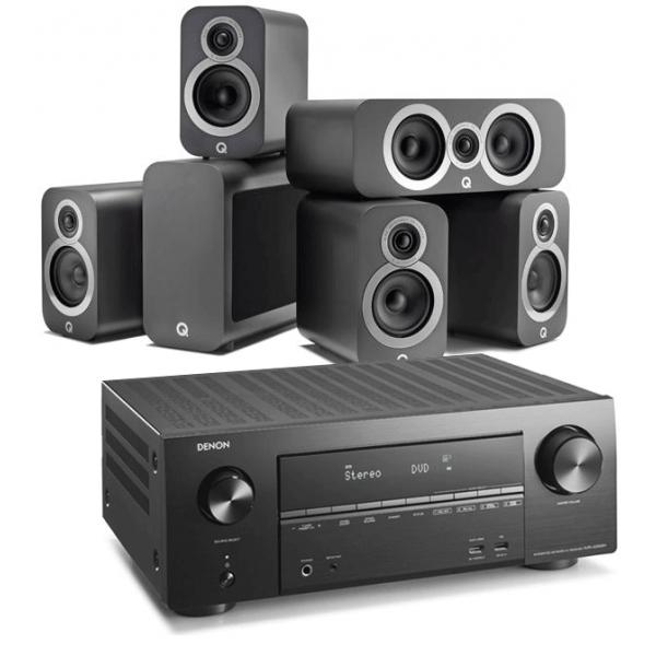 Denon AVR-X2600H AV Receiver w/ Q Acoustics 3010i 5.1 Cinema Pack £989 @ Exceptional Audio Visual