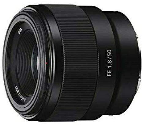 Sony SEL50F18F E Mount Full Frame 50 mm F1.8 Prime Lens £129 @ Amazon