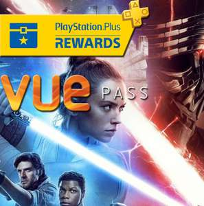 Vue Pass with PlayStation Plus subscription (Minimum 2 tickets = £9.62)