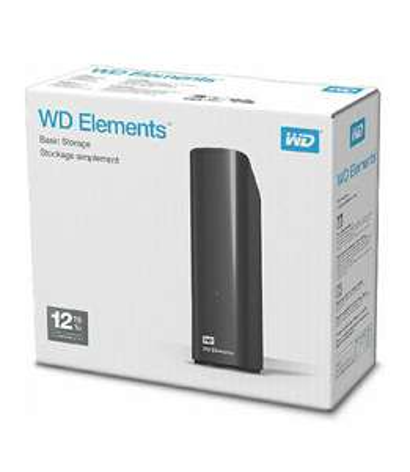 WD 12TB Elements Desktop External Hard Drive - USB 3.0 for £159.99 at Amazon
