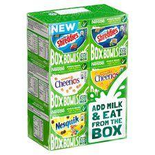 Nestle box bowls cereal 6 pack 210g £1@ Tesco