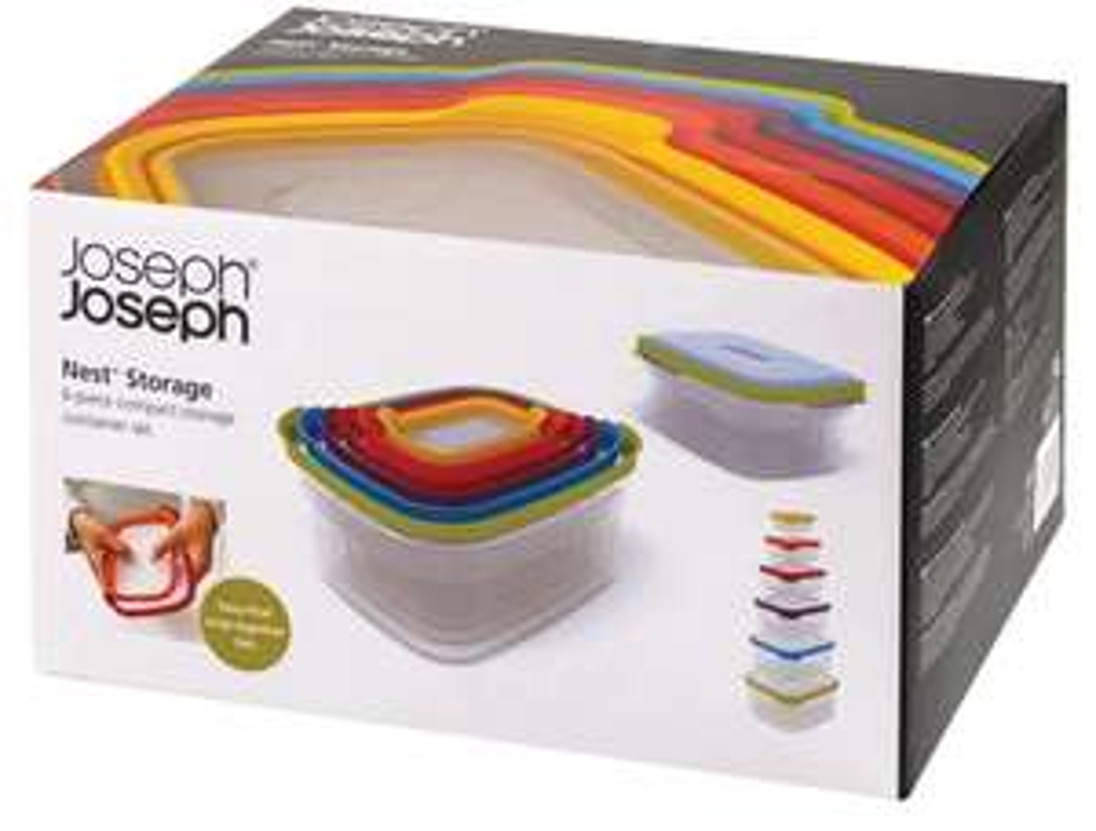 Joseph Joseph - Set of 6 Multi-Coloured 'Nest Storage' Compact Food Containers at Debenhams for £21
