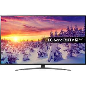 "LG 55SM8600PLA 55"" Smart 4K Ultra HD TV with Nano Cell, HDR10, Dolby Vision and Dolby Atmos £599 With Code @ AO.com"