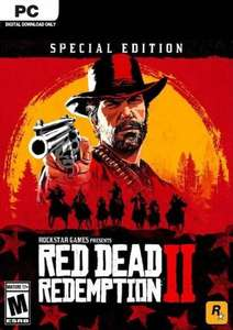 [PC] Red Dead Redemption 2 (Special Edition) - £33.79 @ CDKeys