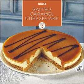 Salted Caramel Cheesecake 850g £1.50 @ Iceland