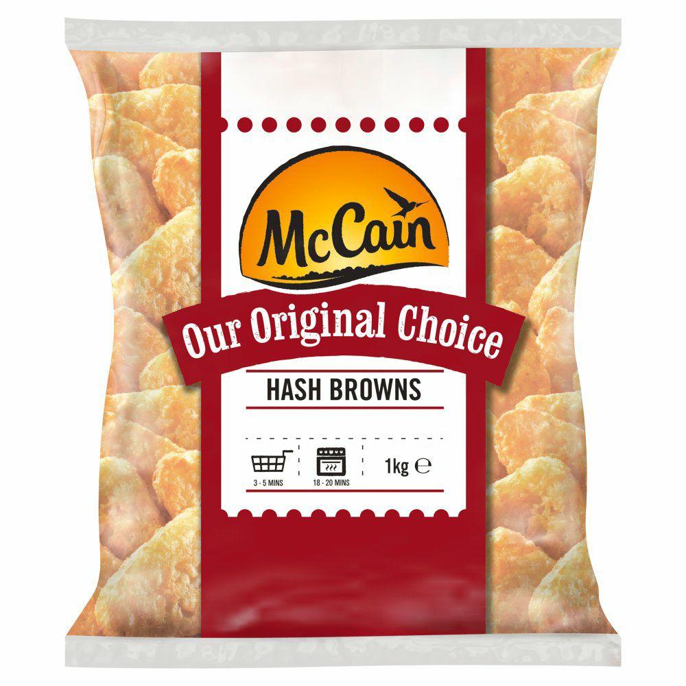 McCain Original Choice Hash Browns 1kg - £1 @ Heron Foods