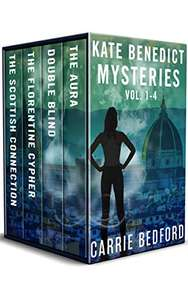 Kate Benedict Cozy British Mysteries Vol 1-4 by Carrie Bedford FREE on Kindle @ Amazon