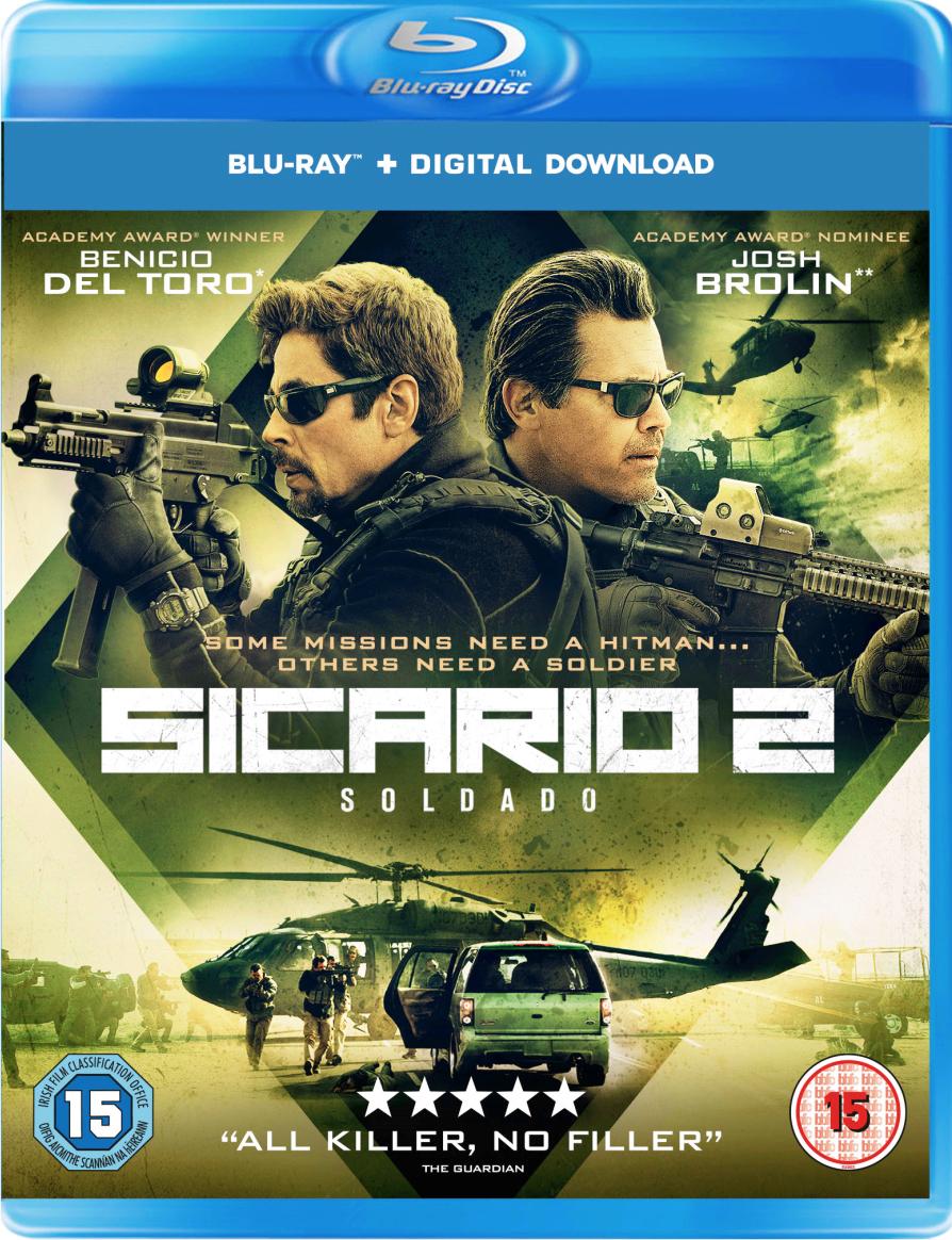 Sicario 2 - Soldado now £3.99 free click and collect at HMV