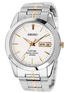 Seiko Sapphire Men's Analogue Watch - £59.99 at Argos (Free Collection)