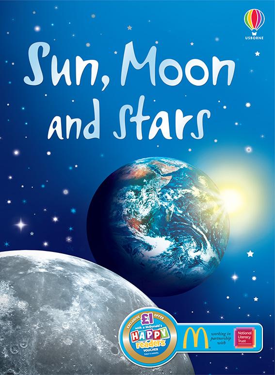Sun, Moon and Stars (Usborne Beginners) Kindle Edition Free at Amazon