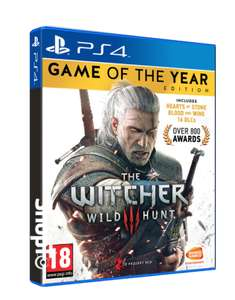 The Witcher 3 GOTY Edition PS4 and Xbox One £14.85 @ ShopTo