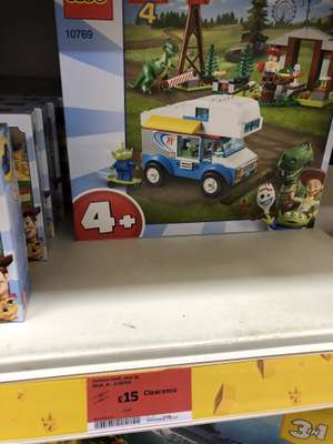 Lego Toy story 4 RV vacation £15 @ Sainsbury's Basildon