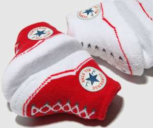 Converse booties 2 pack (0-6 months) £4.99 @ Schuh (free C&C to store or add £1)