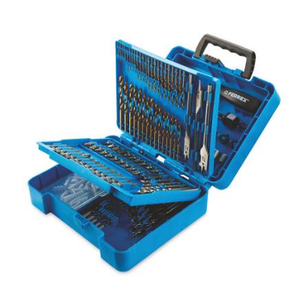 Ferrex 204 Piece Drill Bit Set £14.99 @ Aldi online & Instore