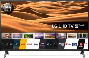 LG 49UM7100PLB 49 Inch UHD 4K HDR Smart LED TV with Freeview Play - Ceramic Black (2019 Model) - £257.07 Amazon WareHouse Used