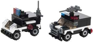 Various SWAT Team Series Toy Cars and Vehicles - £0.99 delivered at Ebuyer