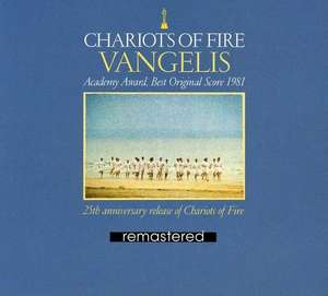 Chariots Of Fire 25th Anniversary Edition Remastered, Digipack by Vangelis £2.99 prime / £3.98 non prime @ Amazon