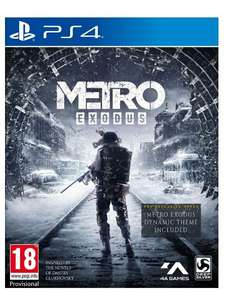Metro Exodus and Spartan Survival Guide on PlayStation 4/Xbox one for £12.99 Delivered @ Simplygames