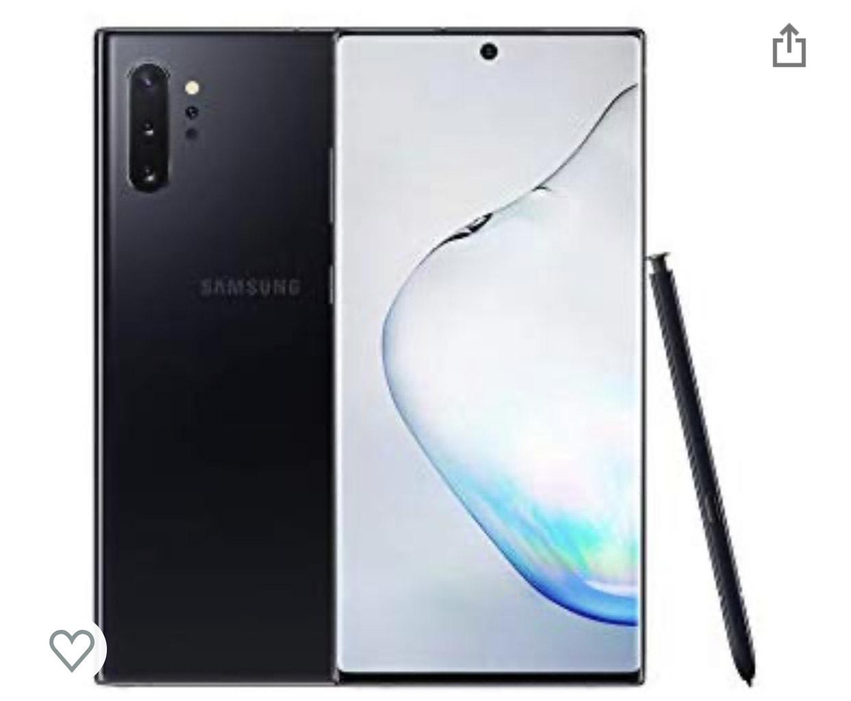 Samsung Galaxy Note 10+ 4g sim free at Amazon £784.98