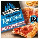 Chicago Town Pizza Kitchen Tiger Crust Pepperoni / Cheese Medley / Cheesy Ham & Bacon £1.50 @ Morrisons