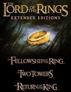 Lord of the Rings Extended Bundle HD £20.97 iTunes