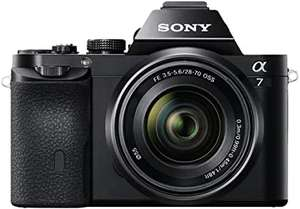Sony ILCE7KB.CE Full Frame Compact System Camera (28-70 mm Zoom Lens 24.3 MP, 117 Points Hybrid Autofocus) £700.38 Amazon