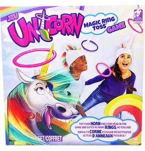 Cardinal Games 6044183 Unicorn Magic Ring Toss Game Now £8.99 (Prime) / £13.48 (non Prime) at Amazon