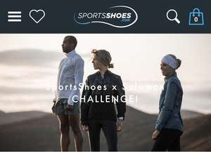 20% discount code for Spring/Summer 20 Salomon products at SportsShoes