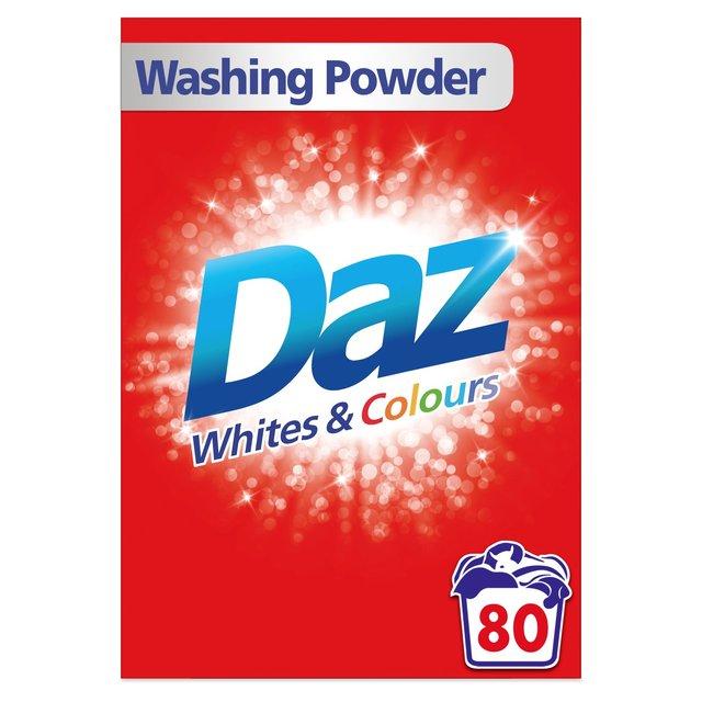 Daz Washing Powder Whites & Colours 80 Washes 5.2kg £6 Morrisons Instore & Online