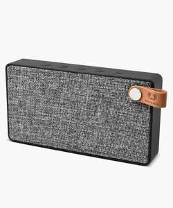 Fresh 'n Rebel Concrete Rockbox Slice fabriq edition bluetooth speaker £17 + £3.95 delivery at Secret Sales