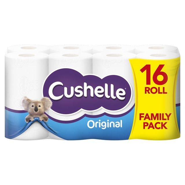 Cushelle 16 toilet rolls £4.50 Centra