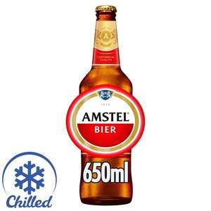 Amstel Premium Lager, Delivered Chilled 650ml £1 each @ Morrisons
