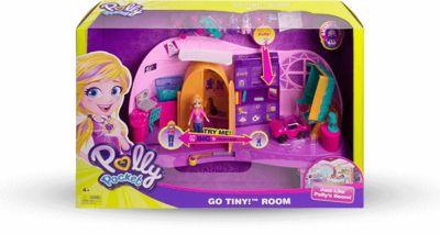 Polly Pocket FRY98 Polly's Go Tiny Playset £9.99 at Amazon