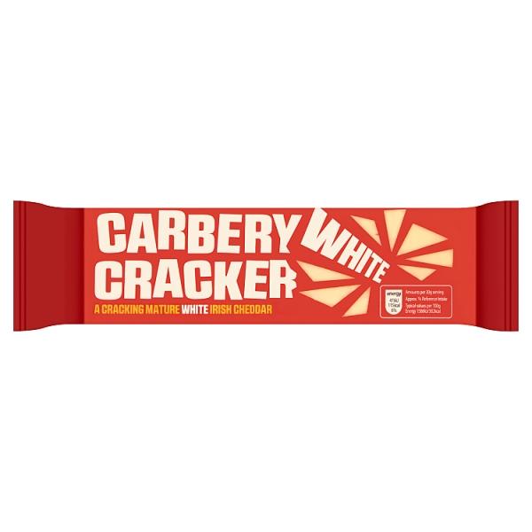 Carbery Cracker 200g mature white Irish cheddar cheese (like Cracker barrel) £1 @ Spar NI
